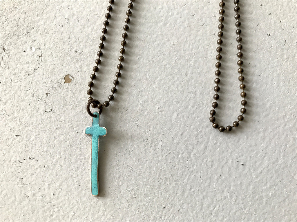 "28"" Cross Necklace"
