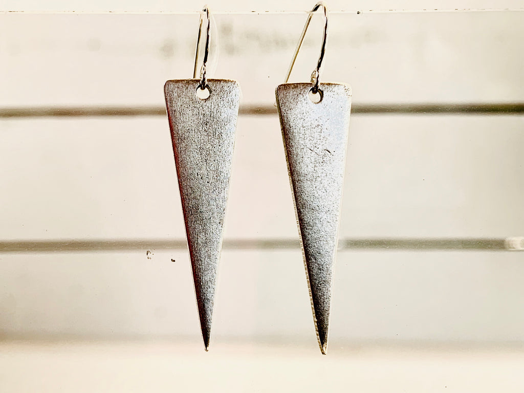 Inverted Triangle Earrings