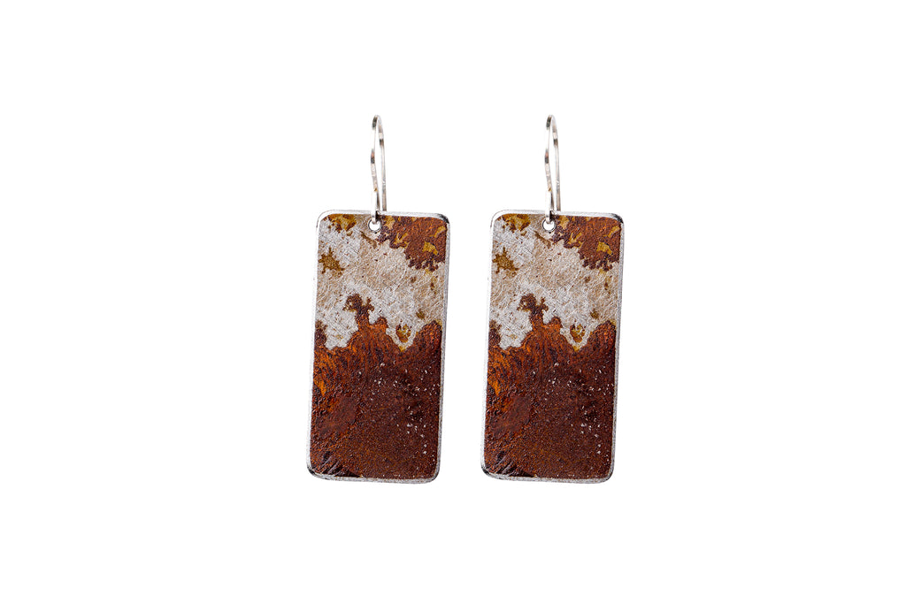 Small Rectangle Earrings