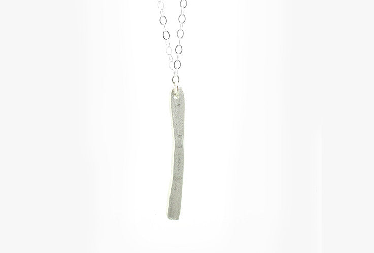 "18"" Vertical Bar Necklace"