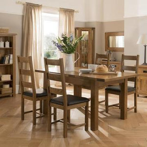 The Auvergne Oak Dining Collection
