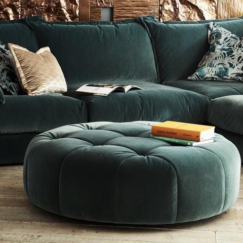 Hughie Swivel Footstool