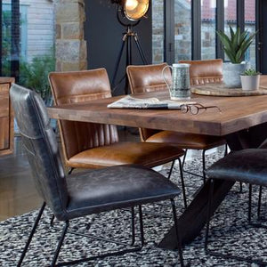 Sigdon Industrial Dining Furniture In Norwich