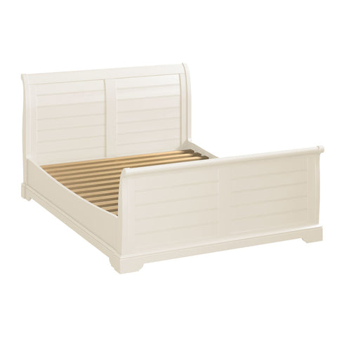 Hardingham White Painted - Sleigh Bed