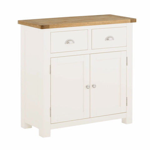 Todenham Oak & White Painted Sideboard - 2 Door 2 Drawer