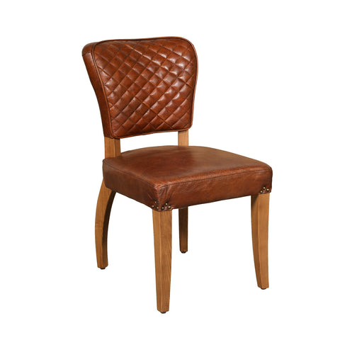 Benson Chair - Brown Leather