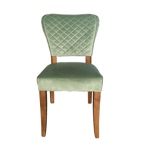 Benson Chair - Duck Egg Velvet