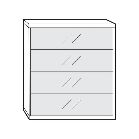 Peru Chest of Drawers - 4 Drawer (75cm)