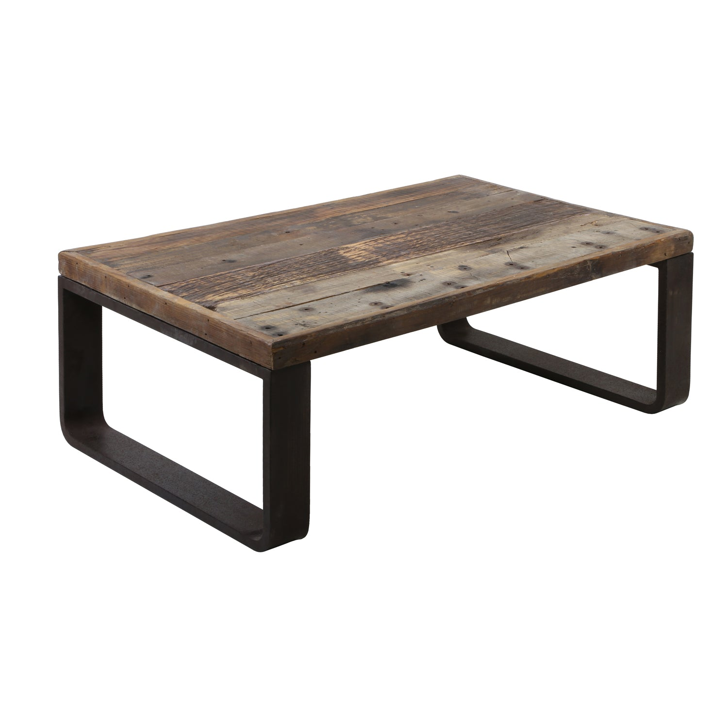 Coffee Table - Rail wood