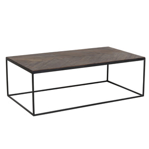 Coffee Table - Brown/ Black