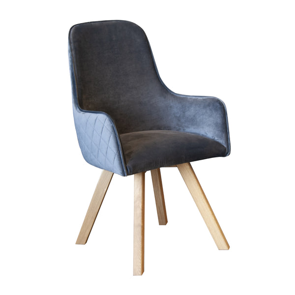 Edmond Dining Chair - Wooden Legs