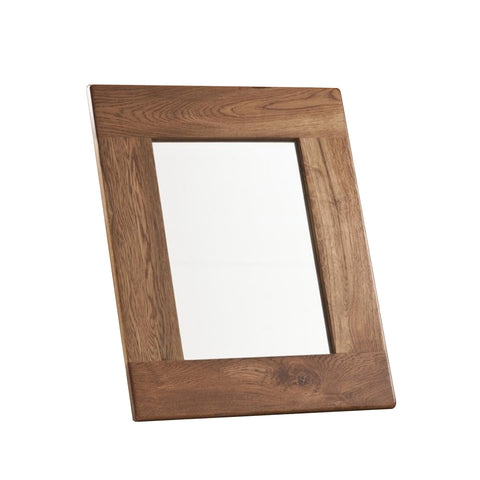 Auvergne Solid Oak Mirror - 75 x 60cm - Better Furniture Norwich & Great Yarmouth