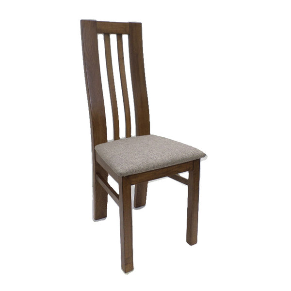 Auvergne Solid Oak Dining Chair - Oslo