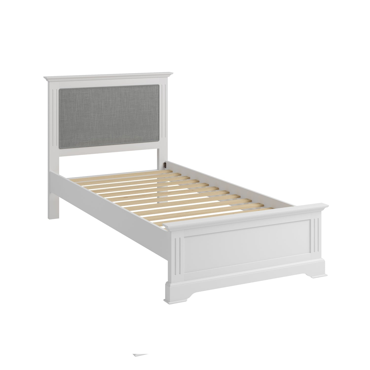 Billingford White Bed