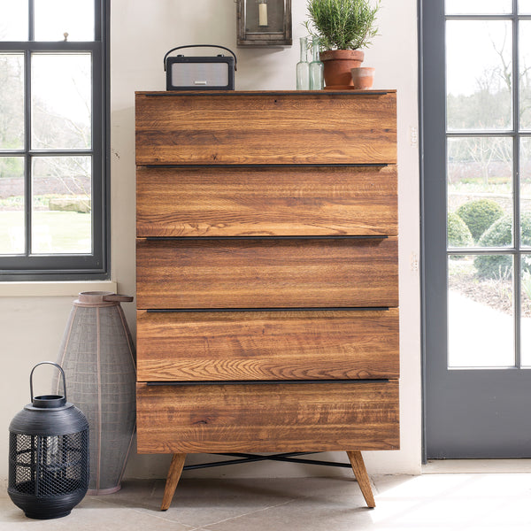 Lambeth Chest of Drawers - 5 Drawer Tall