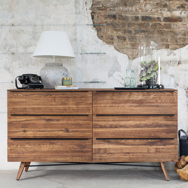 Lambeth Chest of Drawers - 6 Drawer Wide