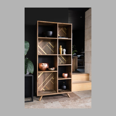 West Point Recycled Wood Bookcase - Large