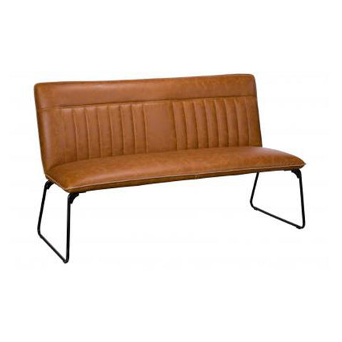 Mac Dining Bench - Tan