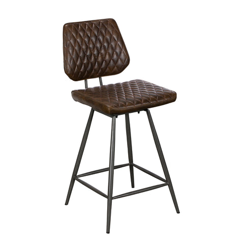Dixie Bar Stool - Dark Brown