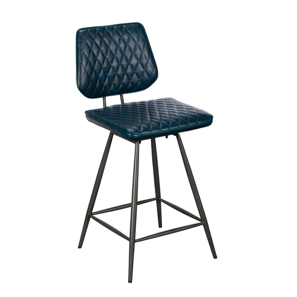 Dixie Bar Stool - Dark Blue