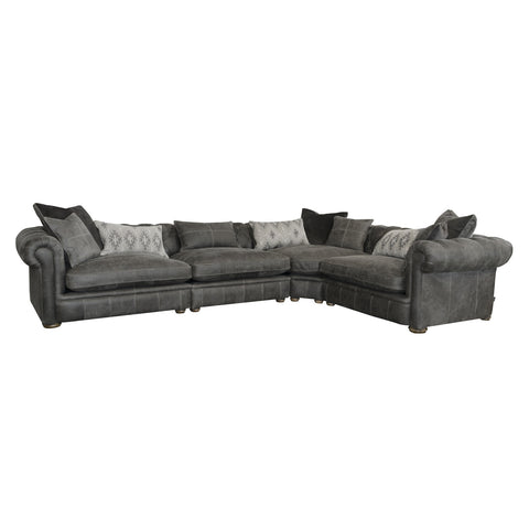 Chamberlain Deluxe - 4 Piece Corner Sofa - Better Furniture Norwich & Great Yarmouth