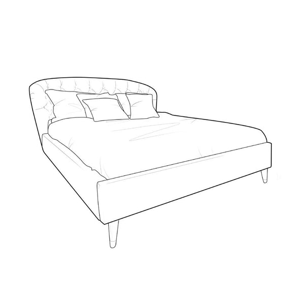 Claudia Upholstered Bed