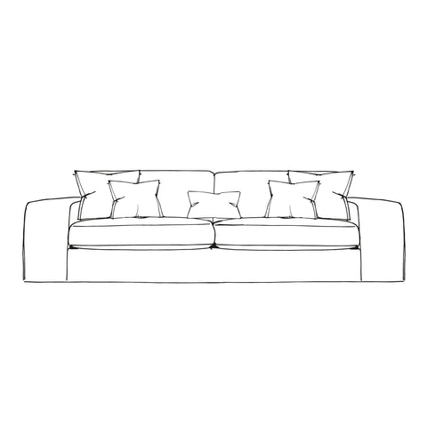 Slouch Sofa - Extra Large