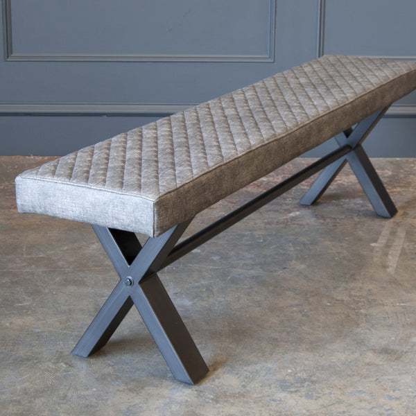 Elsworthy Bench - Small Upholstered