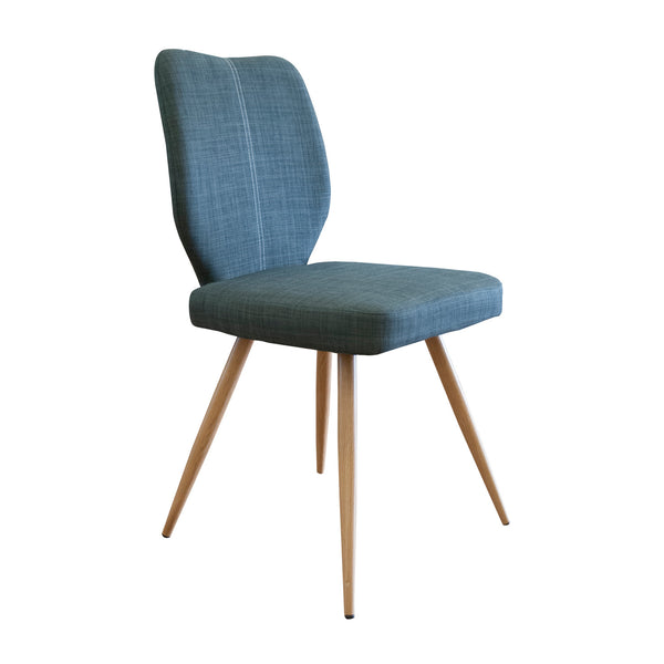 Herne Hill Geo Dining Chair - Slate