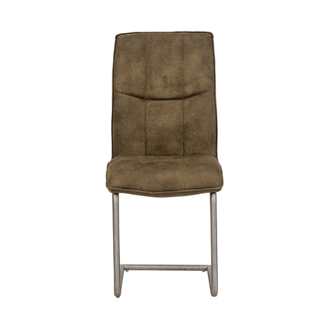 Chichester Dining Chair - Cantilever in Moss