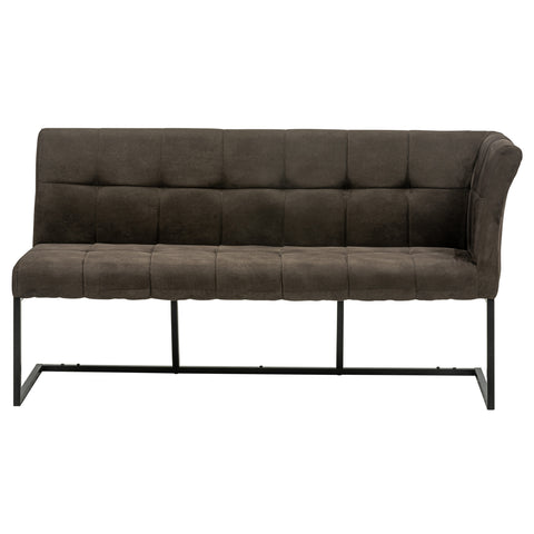 Chichester Dining Bench - Corner Bench in Charcoal