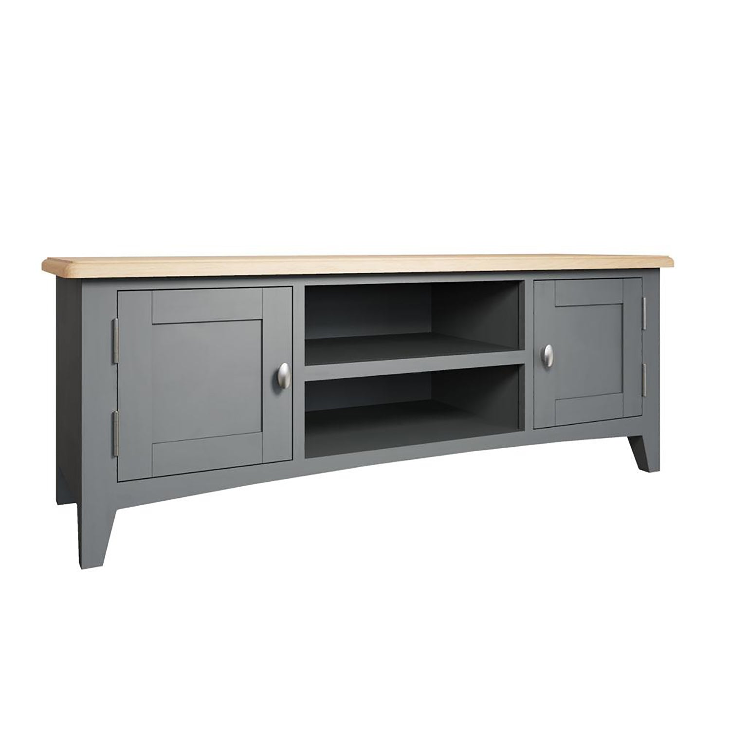 Faro Grey TV Unit - Large