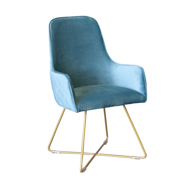 Flint Dining Chair - Sea Foam