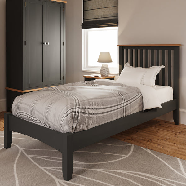 Faro Grey Painted Bed