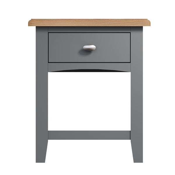 Faro Grey Lamp Table