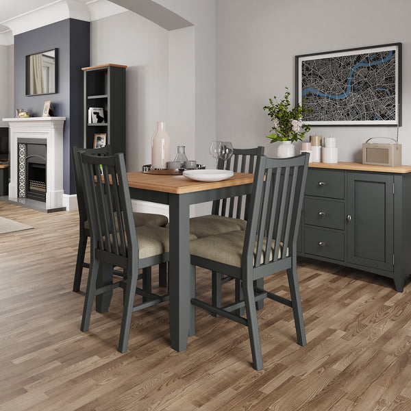 Faro Grey Dining Table - Fixed