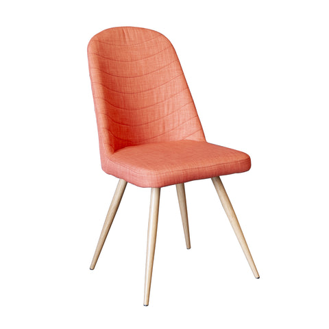 Herne Hill Scoop Dining Chair - Orange