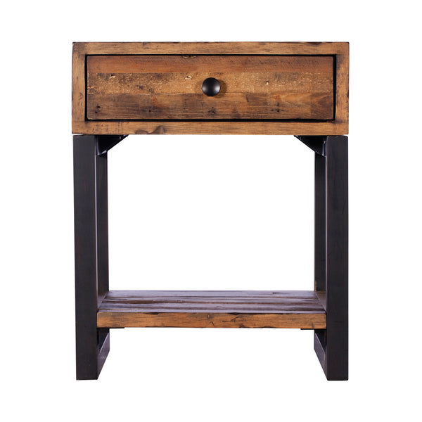 Colebrook Lamp Table with Drawer