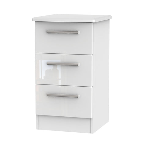Kensington Bedside Cabinet - 3 Drawer