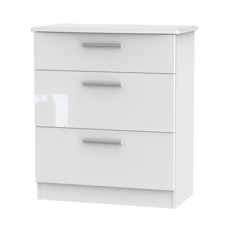 Kensington Chest of Drawers - 3 Drawer Deep