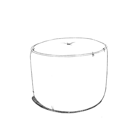 Margo Small Drum Stool