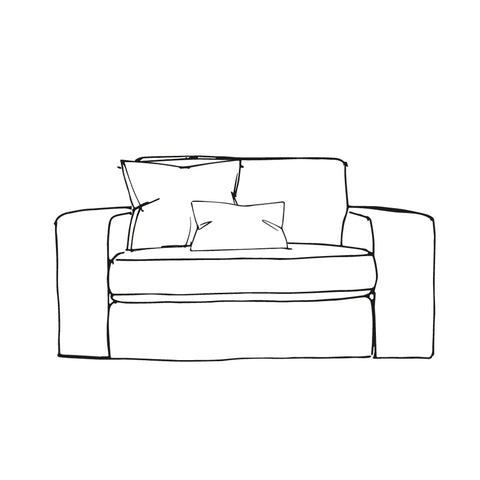 Slouch Chair - Loveseat