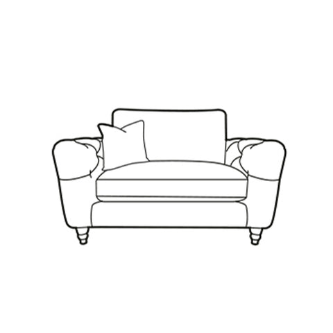 Eva Chair - Loveseat