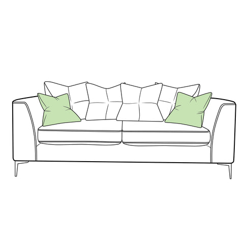 Finley Sofa - Large Scatter Back