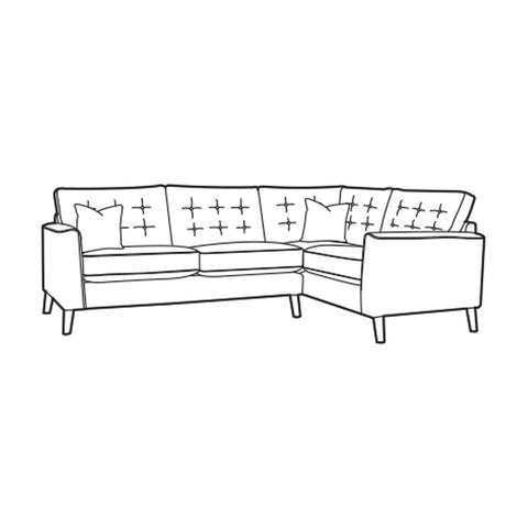 Lottie Corner Sofa - Right Hand Facing