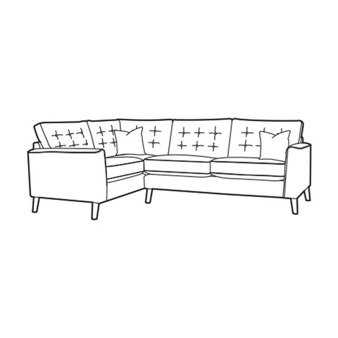 Lottie Corner Sofa - Left Hand Facing