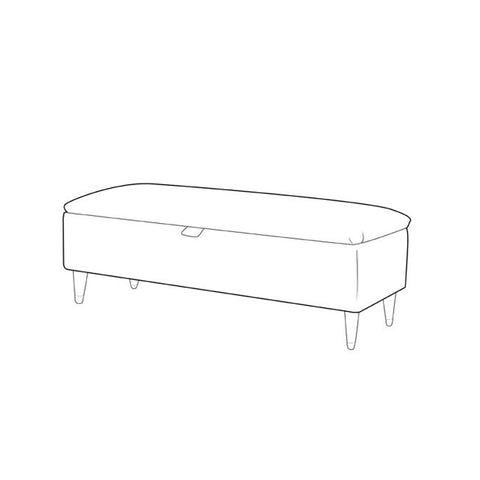Claudia Storage Bench - Ottoman