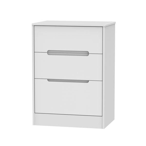 Chelsea Gloss - 3 Drawer Midi Chest