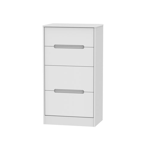 Chelsea Gloss - 4 Drawer Midi Chest