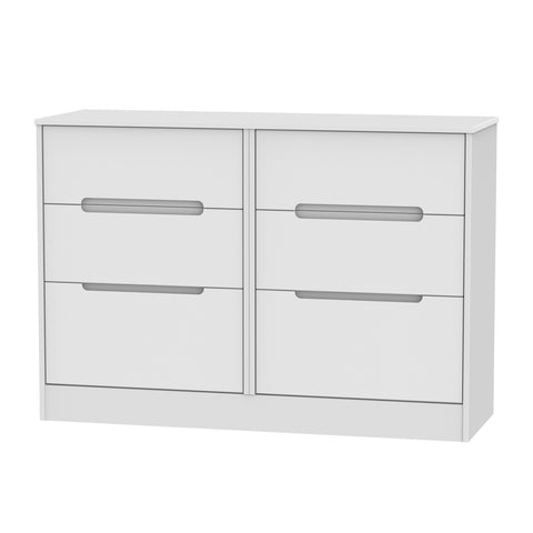 Chelsea Gloss - 6 Drawer Midi Chest